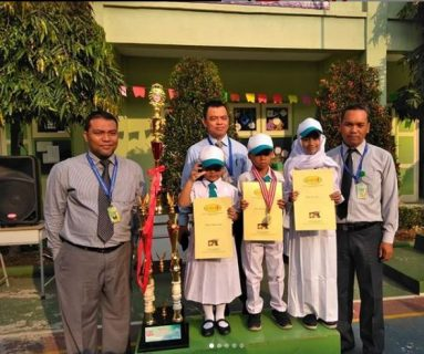 Mewarnai, Renang Jabodetabek  1. Ammara, Juara 1 Mewarnai 2. Fekran, Juara 2 Renang Sejabodetabek 3. Khaira, Juara 10 Besar Renang