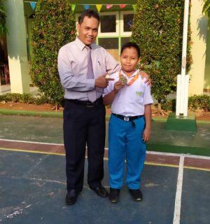 Turnamen Taekwondo Prabu Challange 4 se Banten  Medali Emas