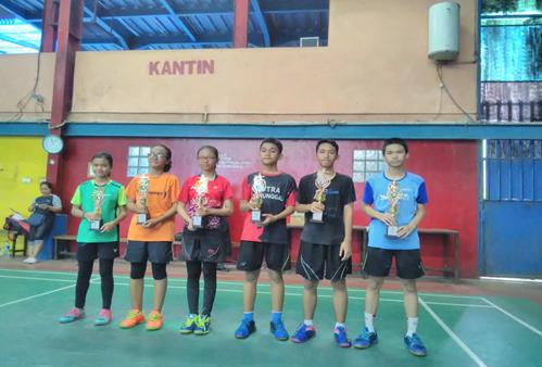 Juara 2 02SN gugus 4 olahraga Bulutangkis  2019